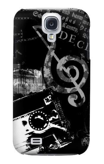 Printed Music Cassette Note Samsung Galaxy S4 mini Case