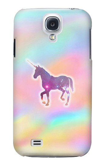 Printed Rainbow Unicorn Samsung Galaxy S4 mini Case