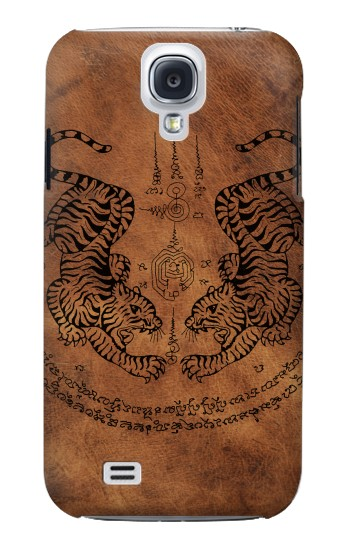 Printed Sak Yant Twin Tiger Samsung Galaxy S4 mini Case