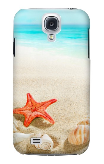 Printed Sea Shells Starfish Beach Samsung Galaxy S4 mini Case