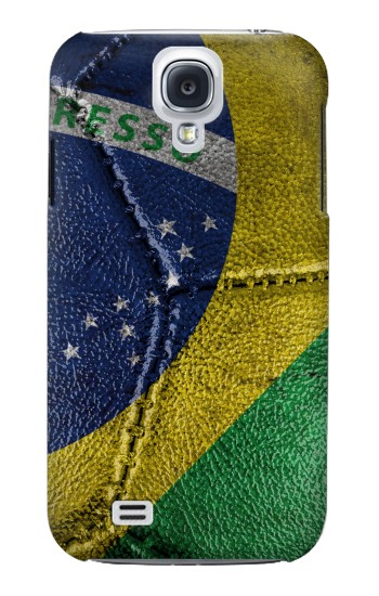 Printed Brazil Flag Vintage Football 2018 Samsung Galaxy S4 mini Case