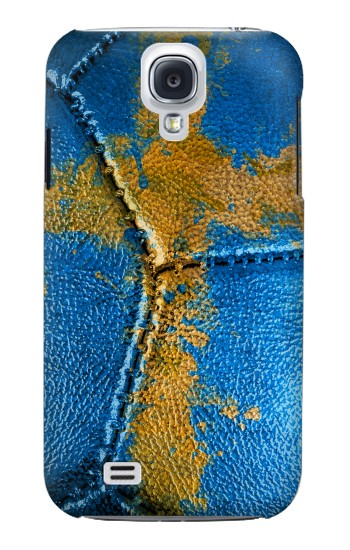 Printed Sweden Flag Vintage Football 2018 Samsung Galaxy S4 mini Case