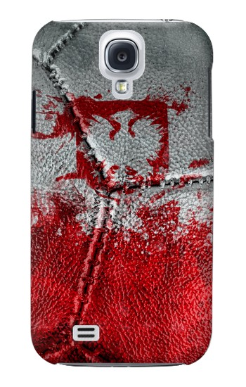 Printed Poland Flag Vintage Football 2018 Samsung Galaxy S4 mini Case