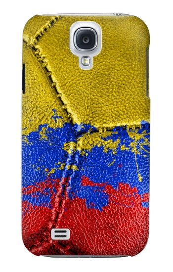 Printed Colombia Flag Vintage Football 2018 Samsung Galaxy S4 mini Case
