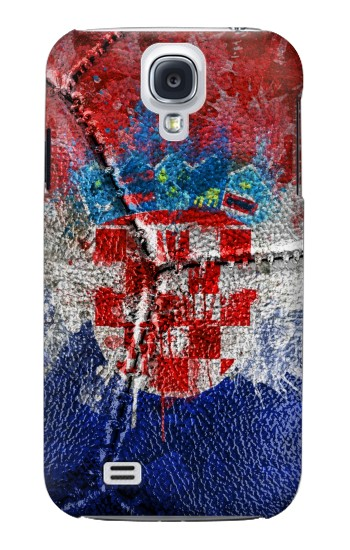 Printed Croatia Flag Vintage Football 2018 Samsung Galaxy S4 mini Case