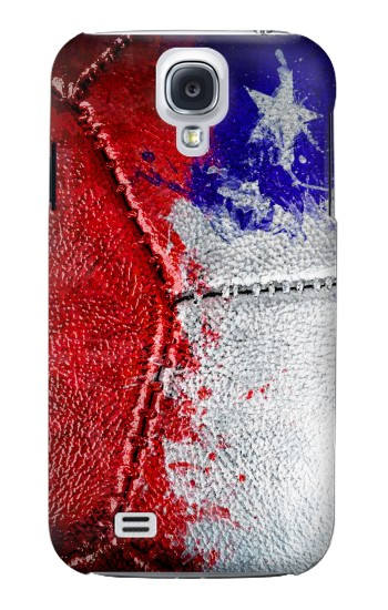 Printed Chile Flag Vintage Football 2018 Samsung Galaxy S4 mini Case