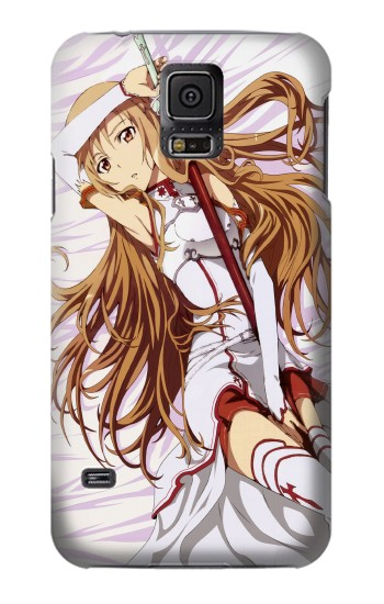 Printed Sword Art Online Asuna Samsung Galaxy S5 mini Case