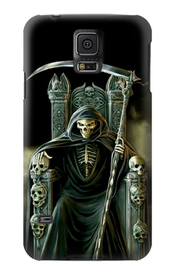 Printed Grim Reaper Skeleton King Samsung Galaxy S5 mini Case