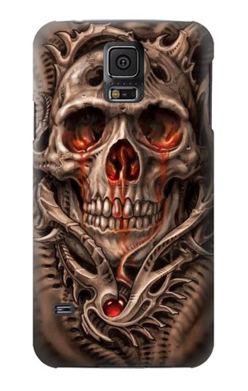 Printed Skull Blood Tattoo Samsung Galaxy S5 mini Case