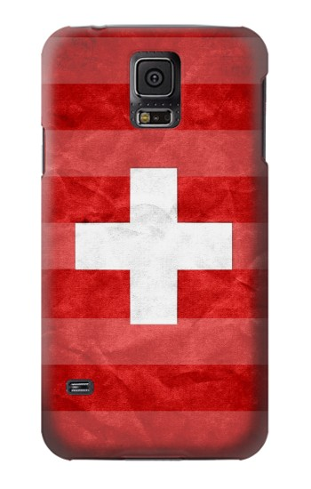 Printed Switzerland Football Flag Samsung Galaxy S5 mini Case