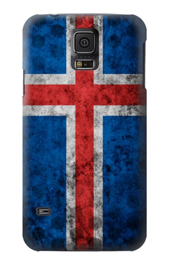 Printed Iceland Football Flag Samsung Galaxy S5 mini Case
