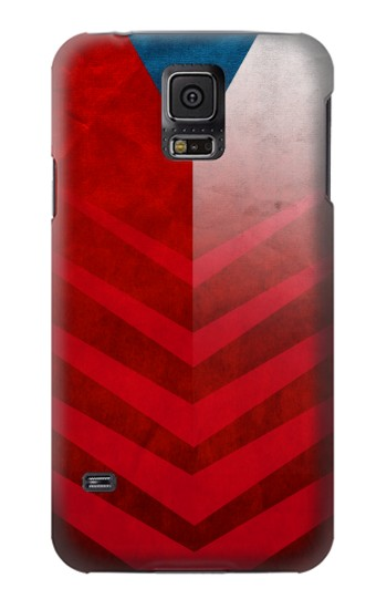 Printed Czech Republic Football Flag Samsung Galaxy S5 mini Case