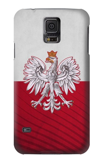 Printed Poland Football Flag Samsung Galaxy S5 mini Case