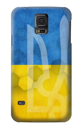 Printed Ukraine Football Flag Samsung Galaxy S5 mini Case