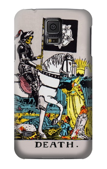 Printed Tarot Card Death Samsung Galaxy S5 mini Case