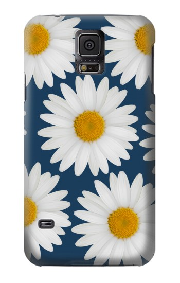 Printed Daisy Blue Samsung Galaxy S5 mini Case
