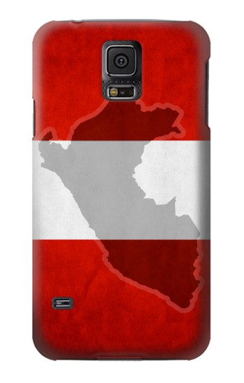 Printed Peru Flag Samsung Galaxy S5 mini Case