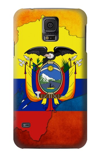 Printed Ecuador Flag Samsung Galaxy S5 mini Case