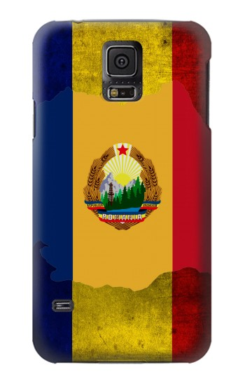 Printed Romania Flag Samsung Galaxy S5 mini Case