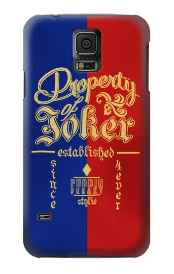 Printed Property of Joker Puddin Freaky Style Samsung Galaxy S5 mini Case