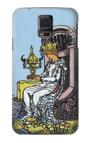 Printed Tarot Card Queen of Cups Samsung Galaxy S5 mini Case