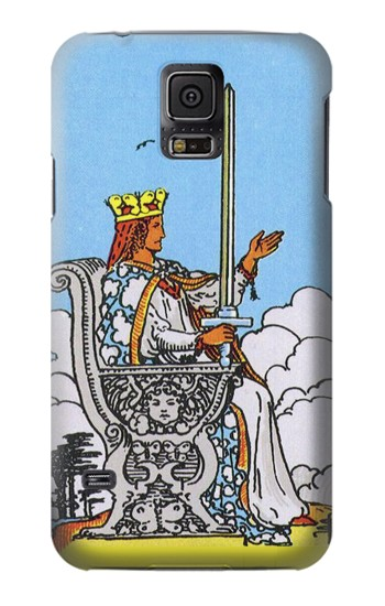 Printed Tarot Card Queen of Swords Samsung Galaxy S5 mini Case