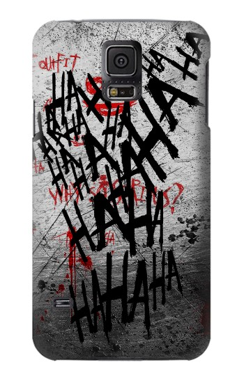 Printed Joker Hahaha Blood Splash Samsung Galaxy S5 mini Case