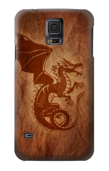 Printed Red Dragon Tattoo Samsung Galaxy S5 mini Case