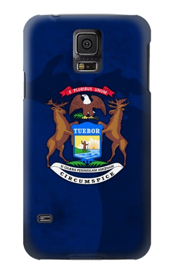Printed State of Michigan Flag Samsung Galaxy S5 mini Case