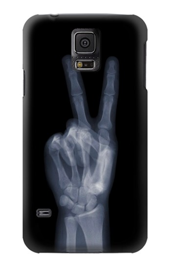 Printed X-ray Peace Finger Samsung Galaxy S5 mini Case