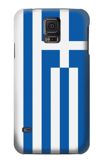 Printed Flag of Greece Samsung Galaxy S5 mini Case