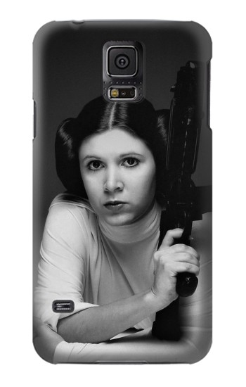 Printed Princess Leia Carrie Fisher Samsung Galaxy S5 mini Case
