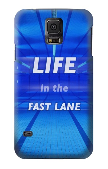 Printed Life in the Fast Lane Swimming Pool Samsung Galaxy S5 mini Case