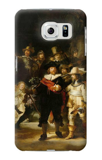 Printed The Night Watch Rembrandt Samsung Galaxy S6 edge Case