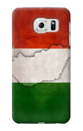 Printed Hungary Flag Samsung Galaxy S6 edge Case