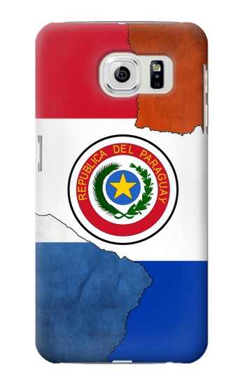 Printed Paraguay Flag Samsung Galaxy S6 edge Case