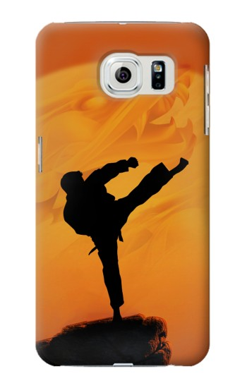 Printed Kung Fu Karate Fighter Samsung Galaxy S6 edge Case