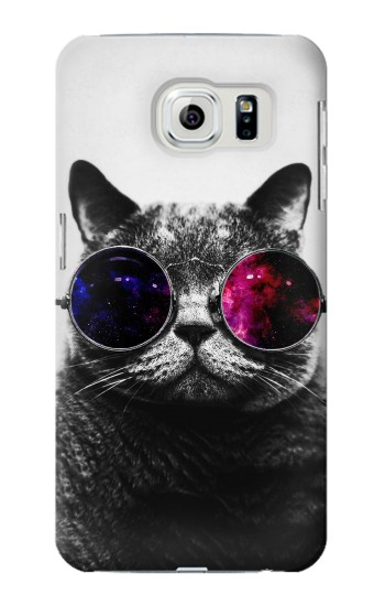Printed Cool Cat Glasses Samsung Galaxy S6 edge Case