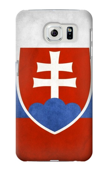 Printed Slovakia Flag Samsung Galaxy S6 edge Case