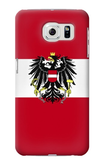 Printed Variant flag of Austria Samsung Galaxy S6 edge Case