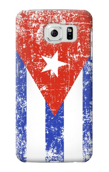 Printed Cuba Flag Samsung Galaxy S6 edge Case