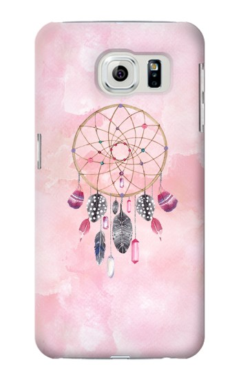 Printed Dreamcatcher Watercolor Painting Samsung Galaxy S6 edge Case