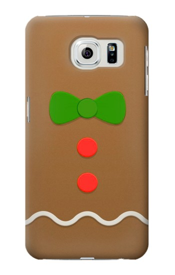 Printed Gingerbread Man Samsung Galaxy S6 edge Case