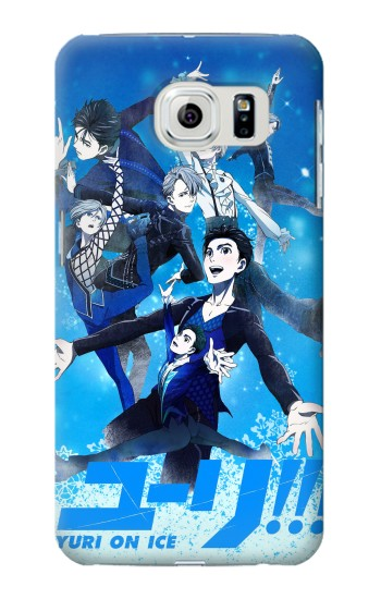Printed Yuri On Ice Samsung Galaxy S6 edge Case