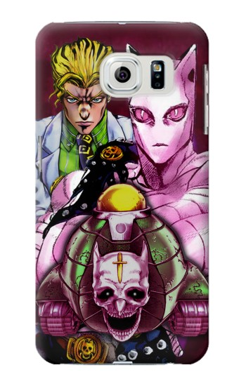 Printed Jojo Bizarre Adventure Kira Yoshikage Killer Queen Samsung Galaxy S6 edge Case