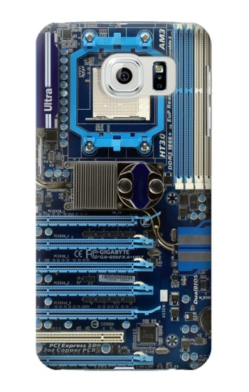 Printed Computer Motherboard Samsung Galaxy S6 edge Case