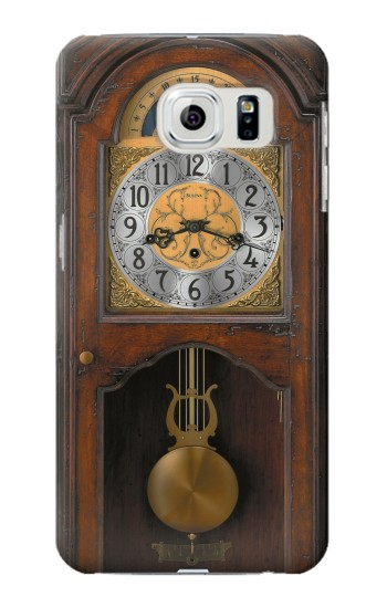 Printed Grandfather Clock Antique Wall Clock Samsung Galaxy S6 edge Case
