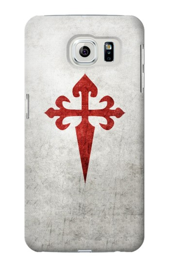 Printed Order of Santiago Cross of Saint James Samsung Galaxy S6 edge Case