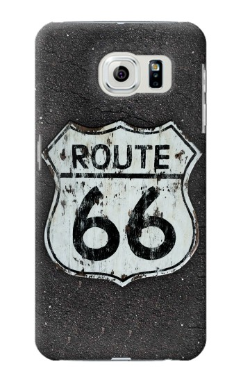 Printed Route 66 Sign Samsung Galaxy S6 edge Case