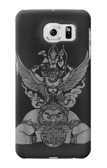 Printed Sak Yant Rama Tattoo Samsung Galaxy S6 edge Case